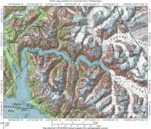 tracy-arm mapa