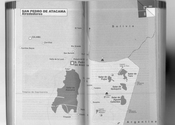 mapa Salar