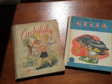 los libros de Celia